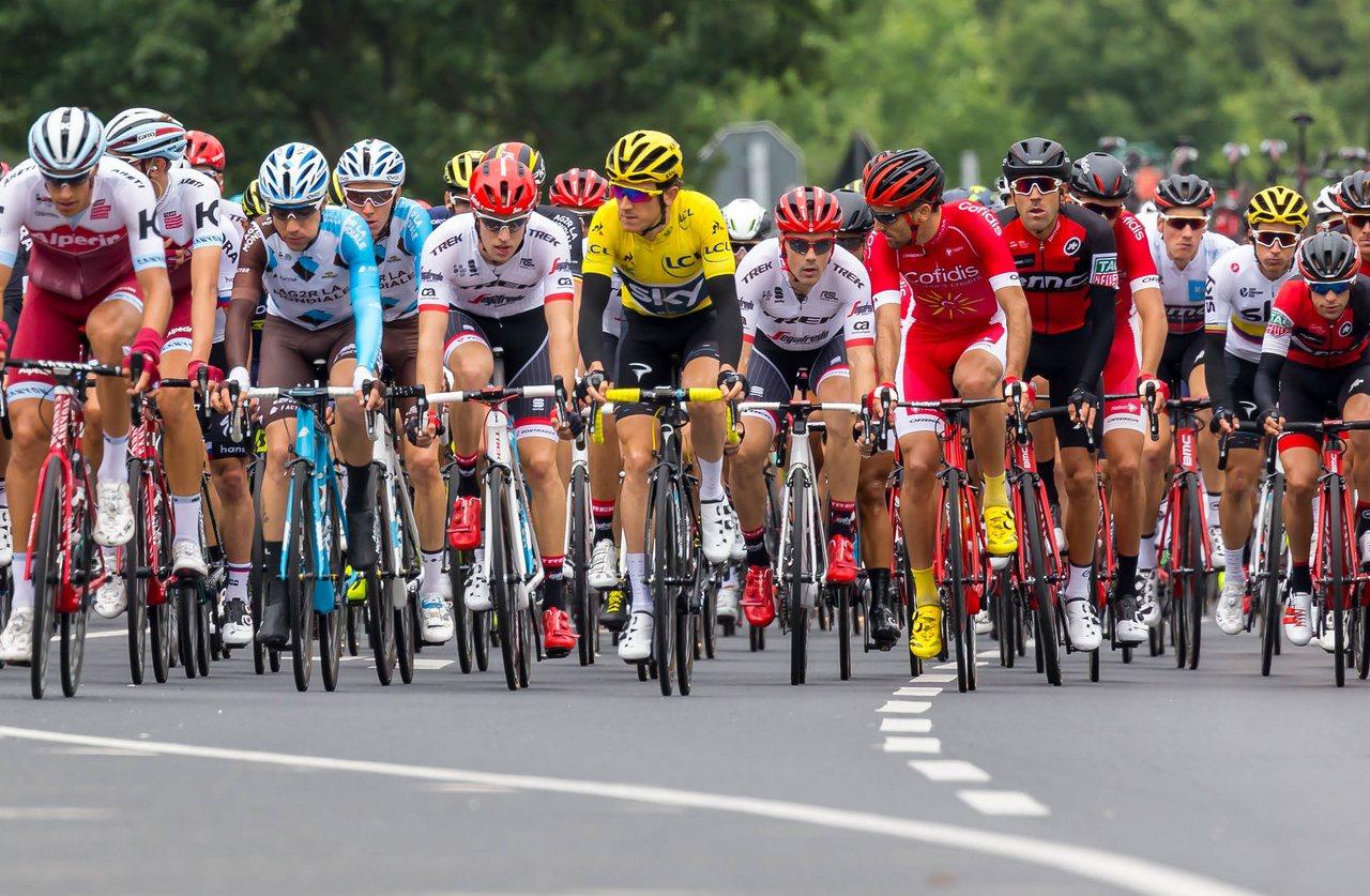Konkurrenz auf dem Rad